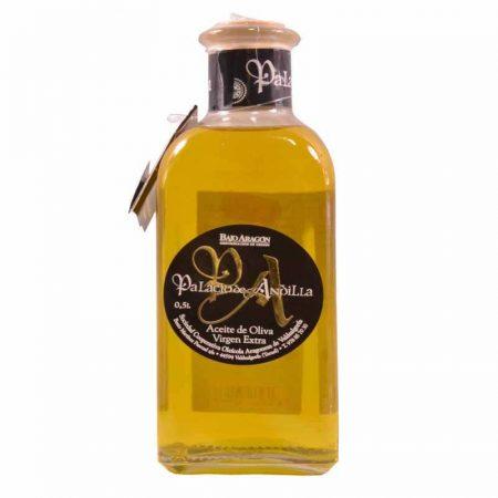 Aceite del oliva empeltre de Palacio de Andilla 500 ml, el mejor aceite empeltre