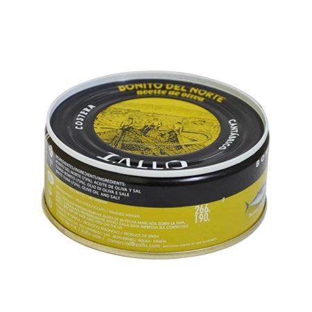 lata de Bonito del norte en aceite de oliva de Zallo