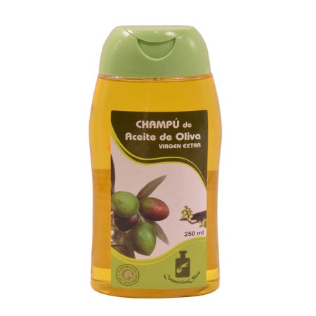 Shampoo with extra virgin olive oil of Cosmética olivo