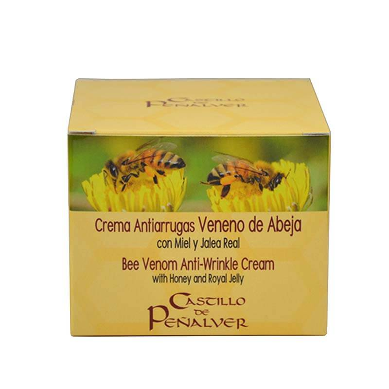 bee venom cream of Castillo de Peñalver