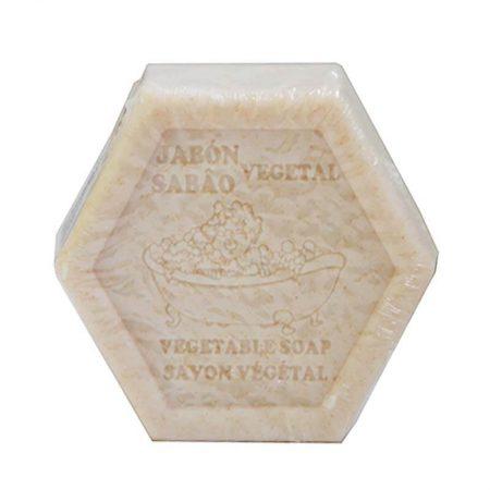 Jabón hexagonal exfoliante de Castillo de Peñalver