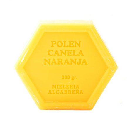 Jabón natural de polen y canela de Castillo de Peñalver
