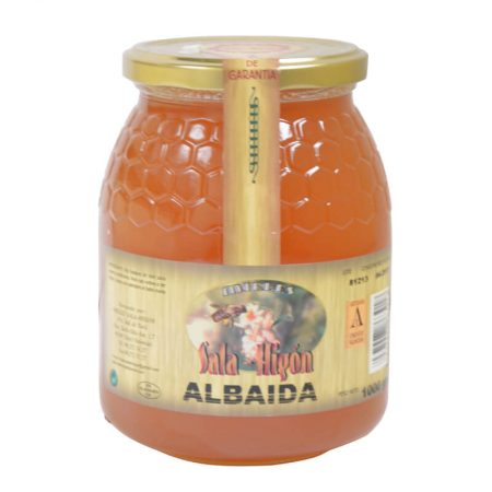 Bottle of Albaida honey of Sala e Higón 1 Kg