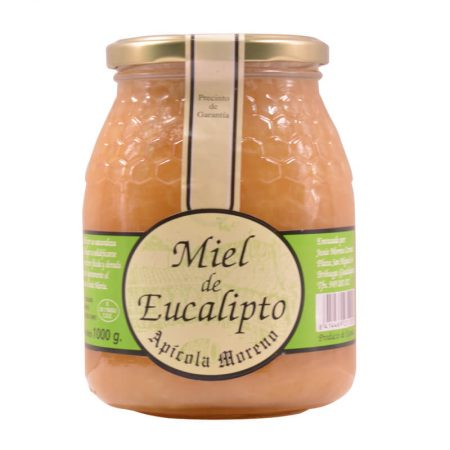 Raw eucalyptus honey of Apícola Moreno