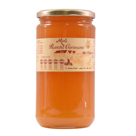 Multi flower honey of Rancho Cortesano 1 Kg