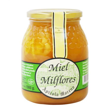 raw multiflower honey of Apícola Moreno 1 Kg