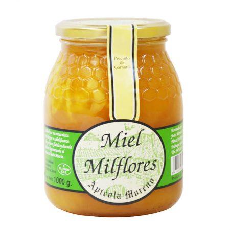 Miel cruda de mil flores de Apícola Moreno 1 Kg