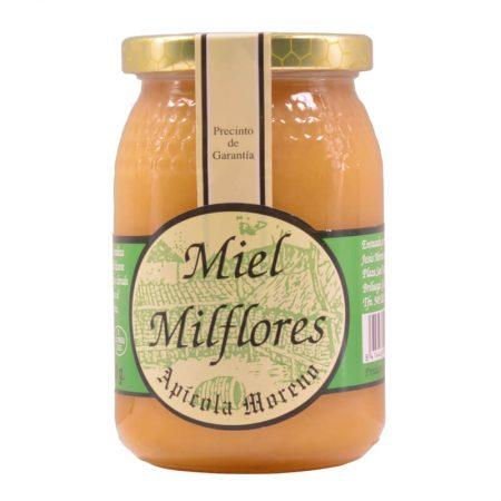 Miel de mil flores de apícola Moreno de 500 g