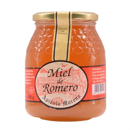 Rosemary honey of Apícola Moreno