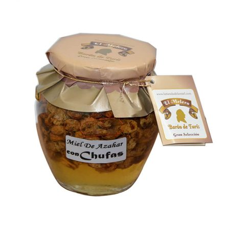 Gourmet jar with honey and tigernuts