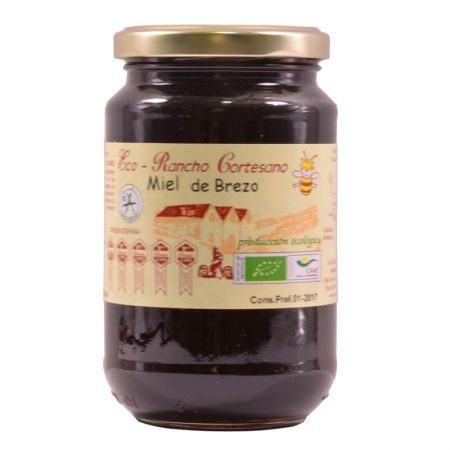 Organic heather honey ofl Rancho Cortesano