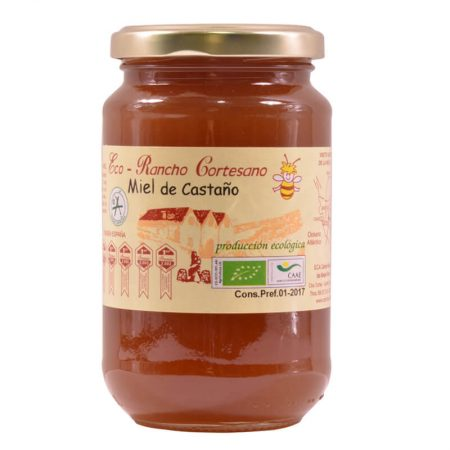 organic chestnut honey of Rancho Cortesano