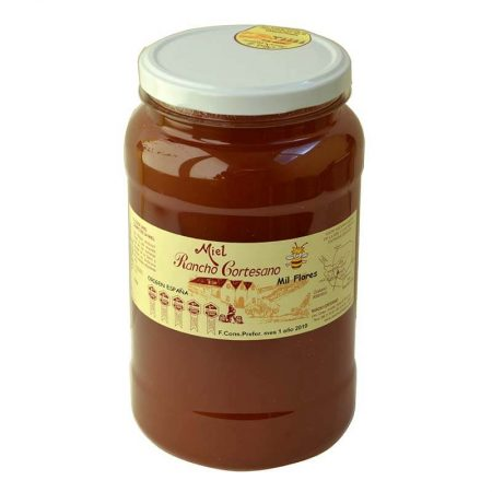 multiflower honey of Rancho Cortesano