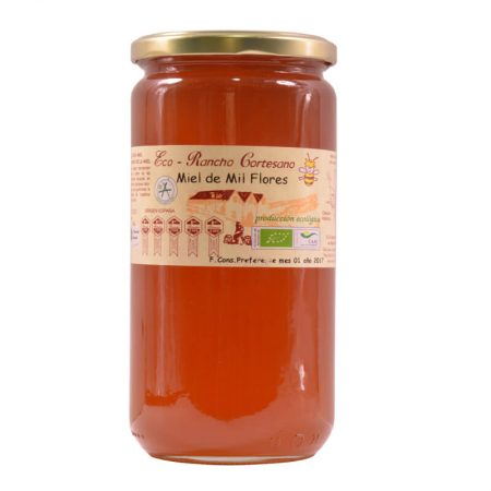 organic multiflower honey