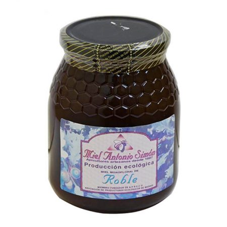 organic oak honey of Antonio Simón de 1 Kg