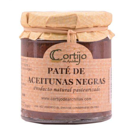 Paté de aceitunas negras de Cortijo de Archillas
