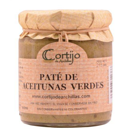 delicioso paté de aceitunas verdes del Cortijo de Archillas
