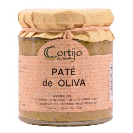 delicioso paté de olivas del Cortijo de Archillas