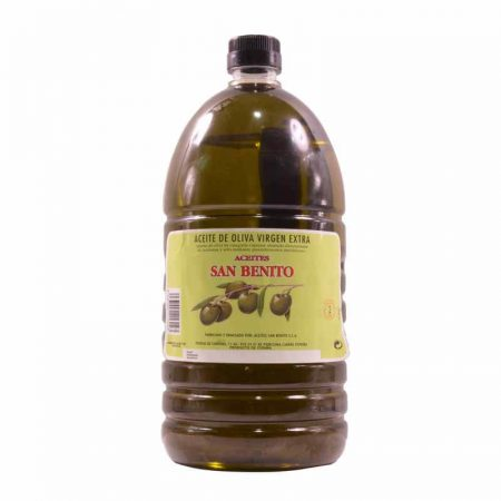Bottle of 2 liters of olive oil of San Benito