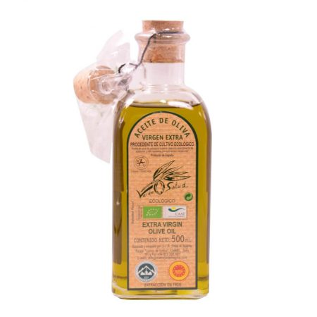 Frasca de Verde Salud, 500 ml de aceite de oliva, productos ecológicos