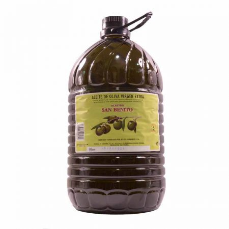 Olive oil from the San Benito Cooperative