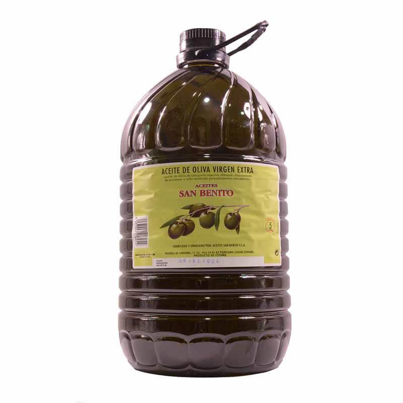 Olivenöl von der Genossenschaft von San Benito