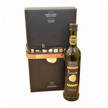 Selection olive oil of el Empiedro