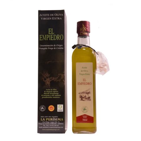 Unfiltered olive oil El Empiedro 500 ml
