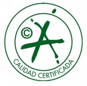 Sello de calidad certificada