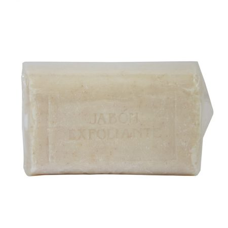 jabón natural exfoliante con miel de Castillo de Peñalver