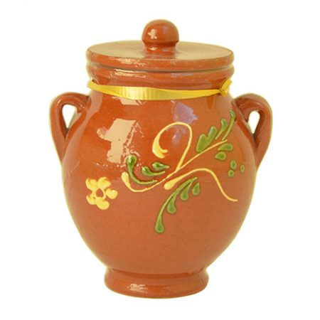ceramic multifloral honey bottle