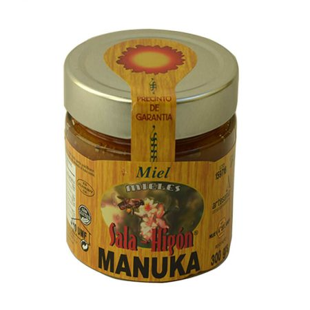 Bottle of manuka honey of Sala e Higón of 400 g