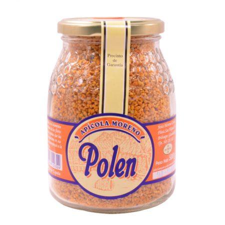 Bote de polen de apícola moreno de 500 g