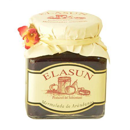 mermelada de arándanos de Elasun