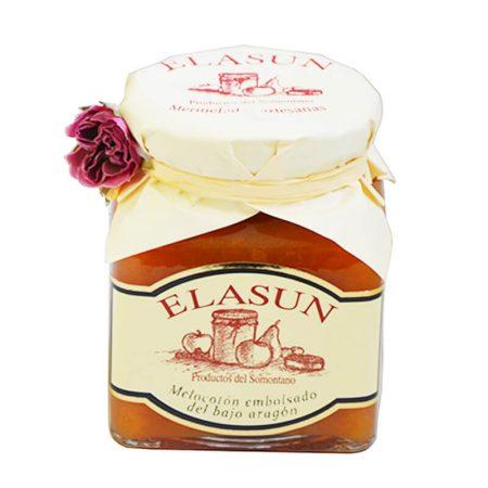 mermelada de melocotón de Elasun
