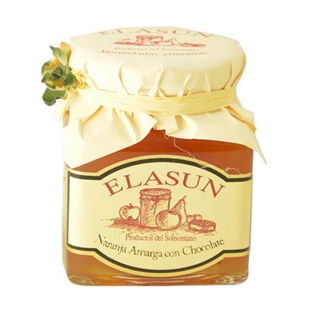 Mermelada de naranja amarga con chocolate de Elasun