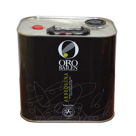 Can of olive oil of Oro Bailen