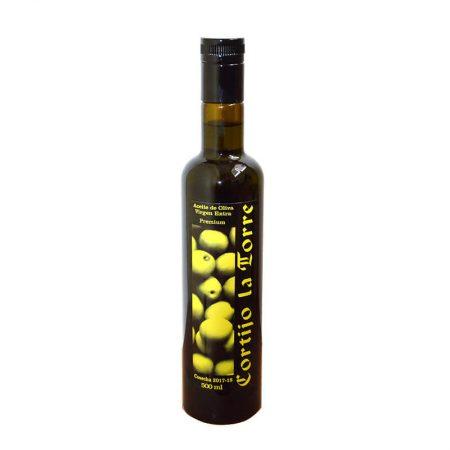 Picual olive oil of Cortijo la Torre