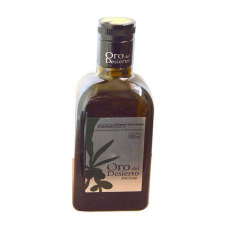Aceite de oliva picual Oro del Desierto 500 ml