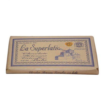delicioso chocolate con leche de la Superlativa