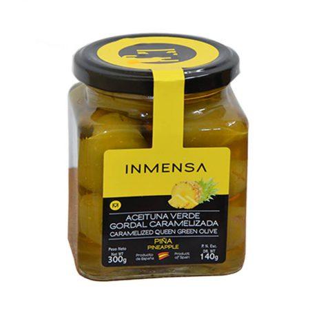 deliciosas aceitunas rellenas de piña de Inmensa