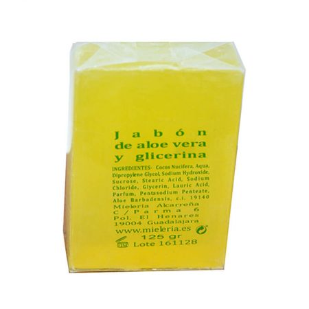 Aloe Vera and Glycerin Soap of Castillo de Peñalver