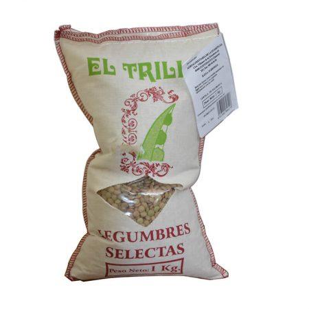 lenteja de Salamanca El Trillo