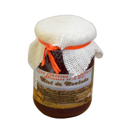 Mountain honey of las Obreras de Aliste