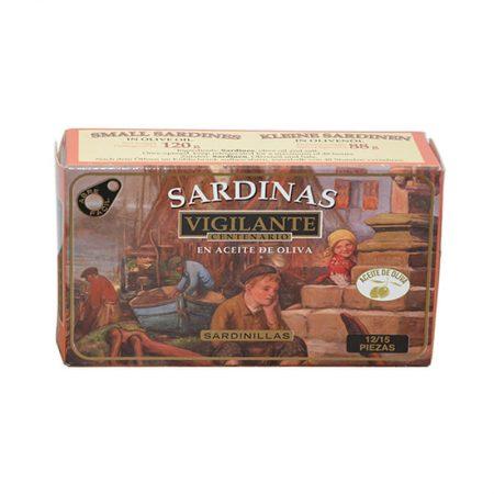 sardinas en aceite de oliva de Vigilante