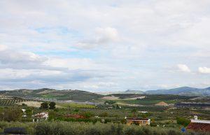 vistas del pueblo de Baena, pueblos de Córdoba