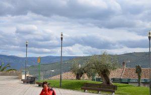 parque en el pueblo de Baena