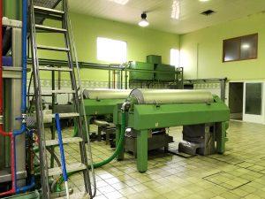 Maquinaria de cooperativas de aceite de oliva