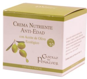crema nutriente antiedad Castillo de Peñalver
