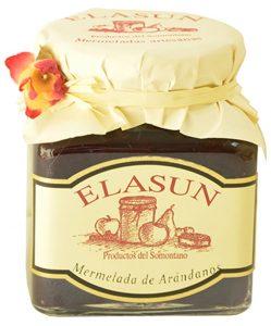 mermelada de los arándanos de Elasun